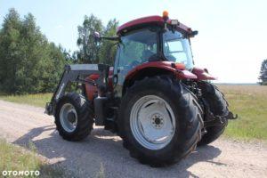 Bok traktora case maxxum
