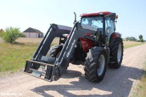 Przód traktora case maxxum 115