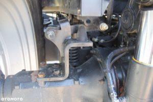 Oś traktora case maxxum 115